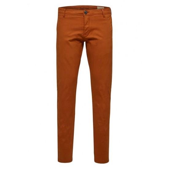Selected homme - Pantalon chino camel