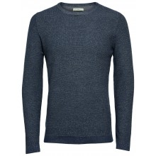 Selected homme - Pull bleu nuit