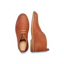 Selected - Chaussures en cuir cognac