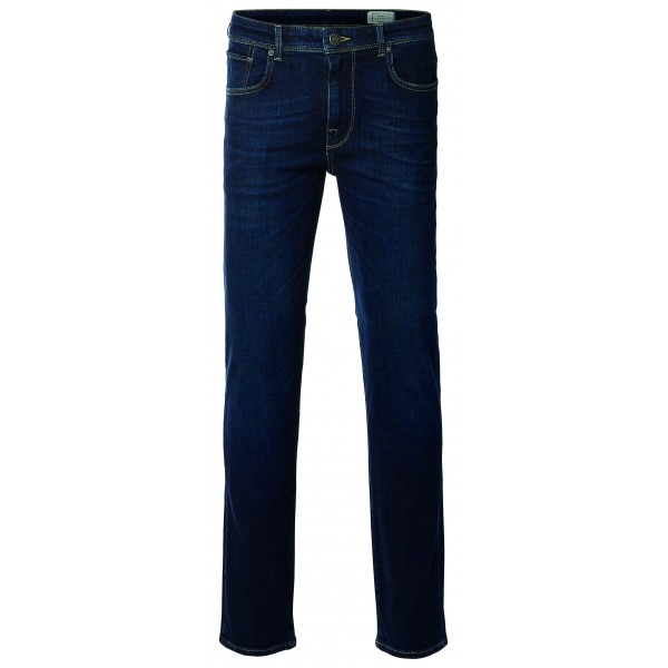 selected homme jeans slim fit dark blue denim. Black Bedroom Furniture Sets. Home Design Ideas
