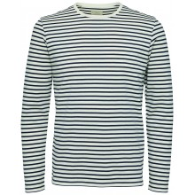 Selected homme - Pull léger marinière