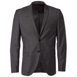 selected veste homme blazer gris. Black Bedroom Furniture Sets. Home Design Ideas