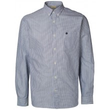 Selected homme - Chemise rayée bleue marine et blanche
