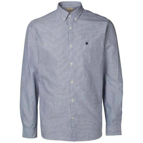 Selected homme - Chemise rayée bleue marine et blanche 188dcb62c1b