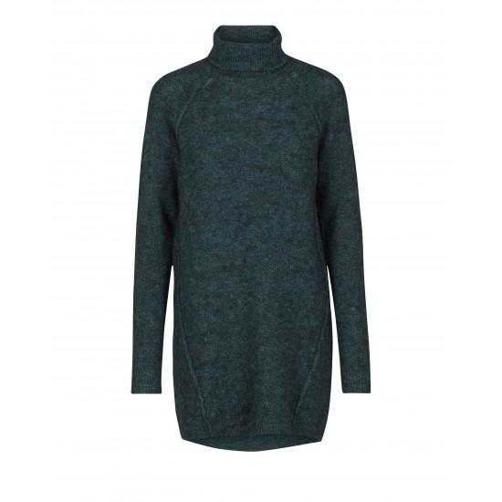 Minimum - Robe pull verte