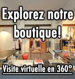 Visite virtuelle de la boutique Marcel et Maurice